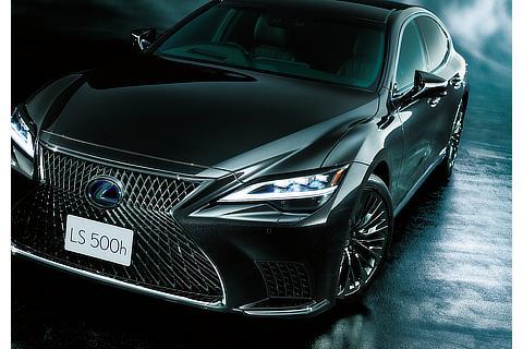 "LS500h""EXECUTIVE""(グラファイトブラックガラスフレーク)<オプション装着車>"