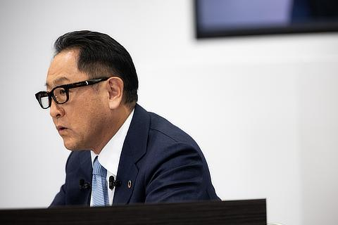 Akio Toyoda, President, Member of the Board