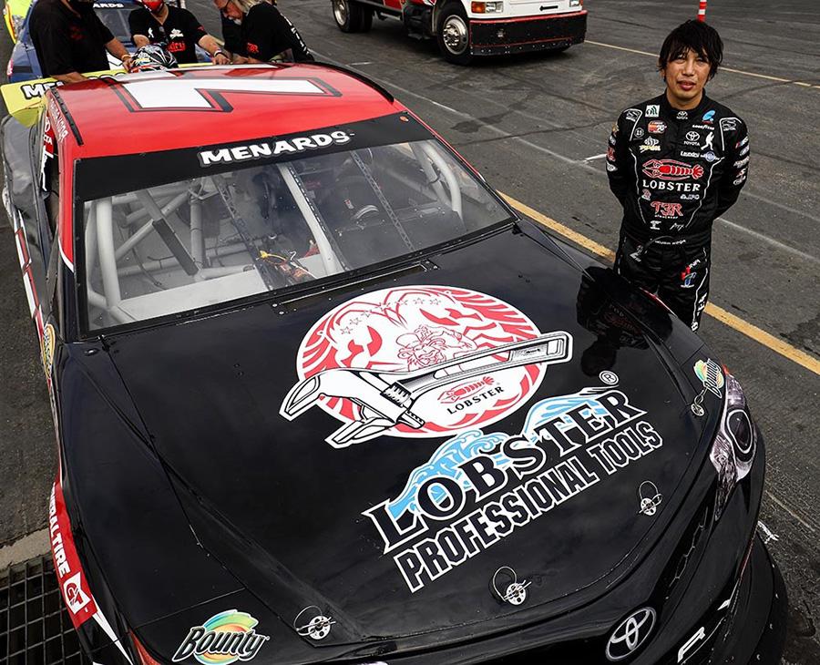NASCAR(古賀琢麻選手)
