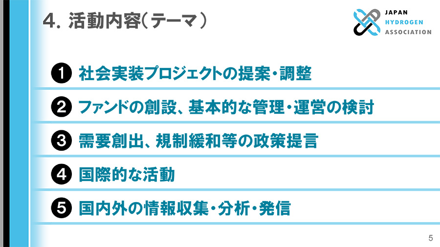 4. 活動内容(テーマ)