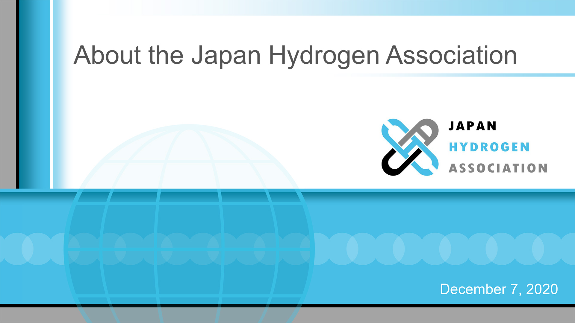 About the Japan Hydrogen Association