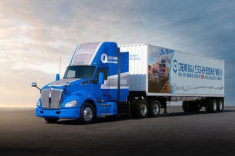 新型燃料電池大型商用トラック