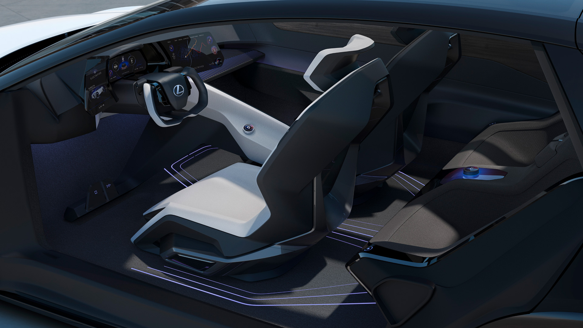 "Lexus Accelerates Its Electrified Future with LF-Z Electrified Concept DebutWorld Premiere of ""LF-Z Electrified,"" a BEV Concept Car Symbolizing the Next Generation of Lexus - Image 3"