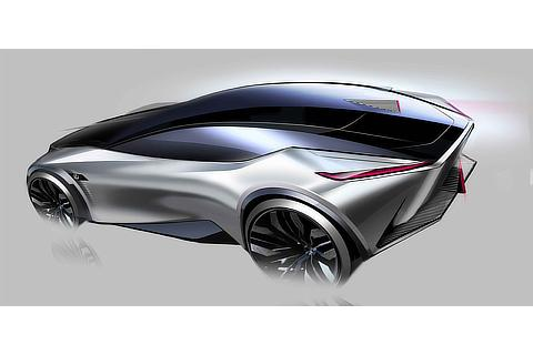 LF-Z Electrified Design Sketch