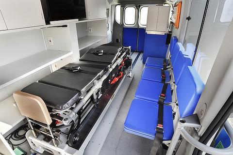 FCEV Mobile Clinic (Interior)