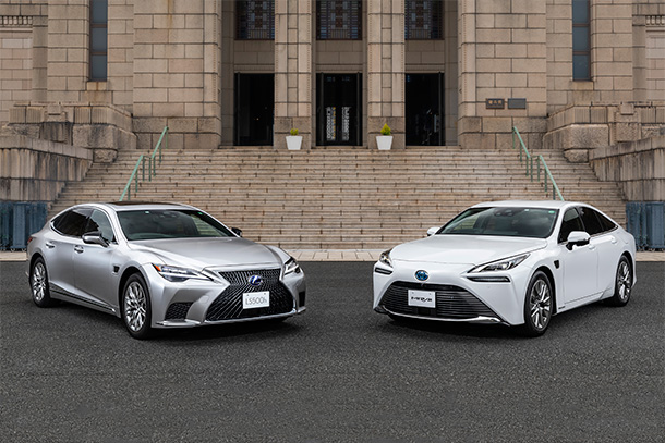 "Toyota Launches LS and Mirai Equipped with ""Advanced Drive"" that Enables Drivers and Cars to Drive Together in Japan"