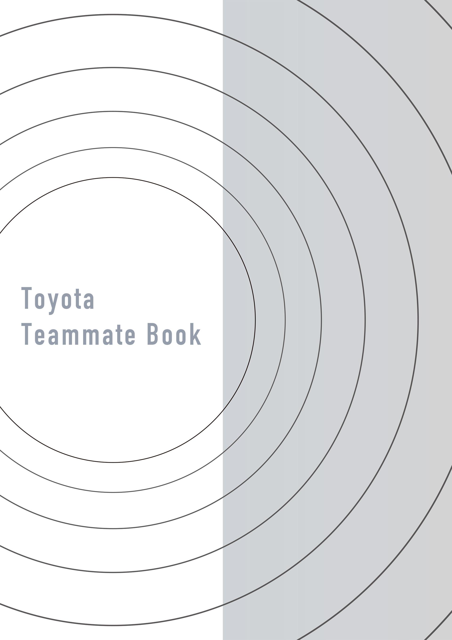 Toyota Teammate Book