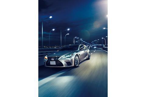 """LS500h""""EXECUTIVE Advanced Drive""""(銀影ラスター)<オプション装着車>"""