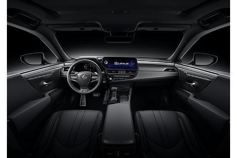 Lexus ES Interior Color Black (Prototype)