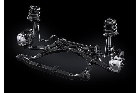 Lexus ES Front Suspension with AVS (Prototype)