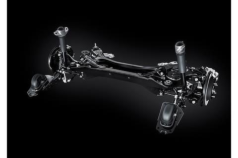 Lexus ES Rear Suspension without AVS (Prototype)