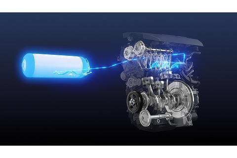 水素エンジン イメージ写真