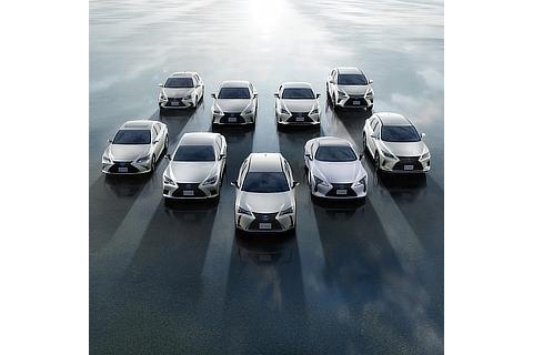 Lexus Electric Vehicle Line-up