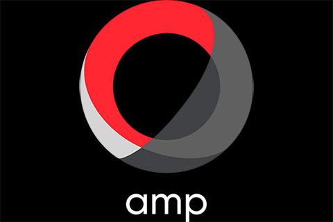 AMPロゴ(小・黒背景)