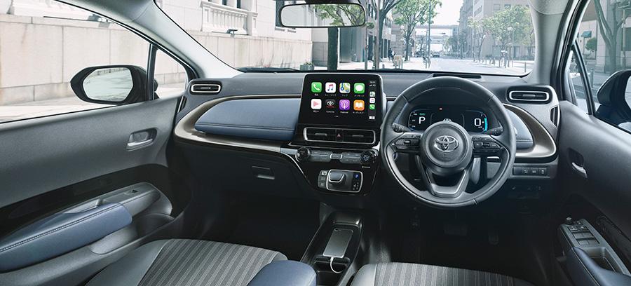 Z (Front-wheel drive) (Interior color: Cozy [Black x Dark Navy]) (Options shown)