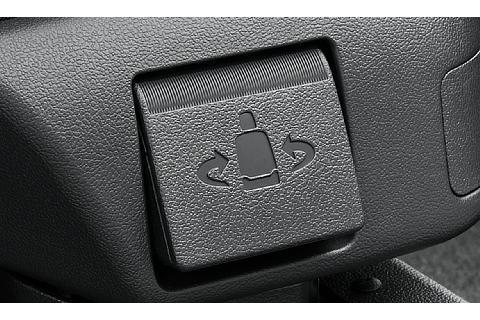 ターンチルトシート 回転レバー ※写真はZ(2WD)