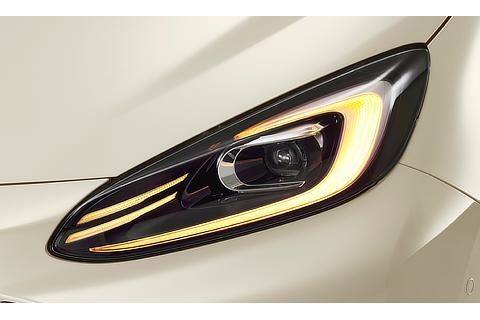 Bi-Beam LEDヘッドランプ LEDターンランプ点灯時 ※Zに標準装備。G、Xにメーカーオプション