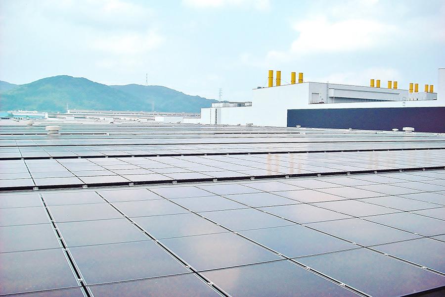 Solar panels at Toyota Motor Kyushu Source: Toyota Motor Kyushu, Inc.