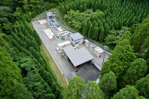 Obayashi's trial plant for geothermal power and green hydrogen production