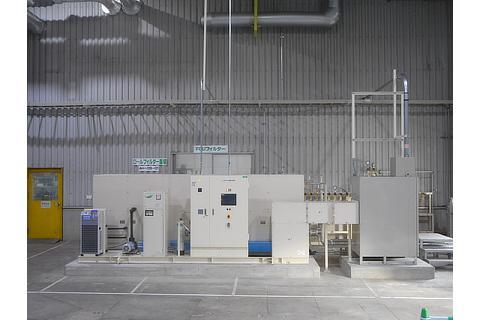 Hydrogen production facilities at Toyota Motor Kyushu