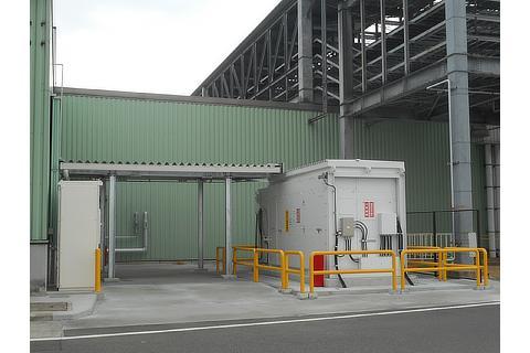 Hydrogen refueling facilities at Toyota Motor Kyushu