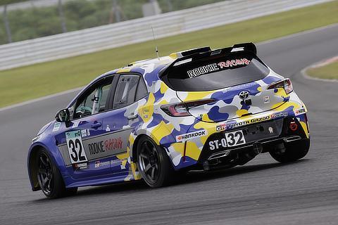 Hydrogen engine races in Autopolis