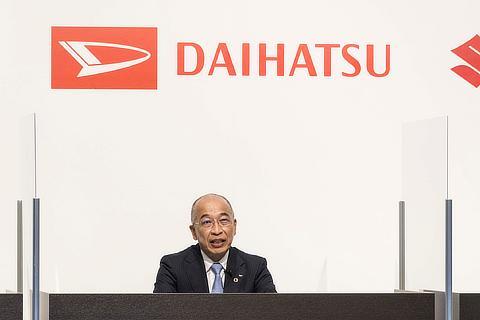 ダイハツ工業株式会社 代表取締役社長 : 奥平 総一郎