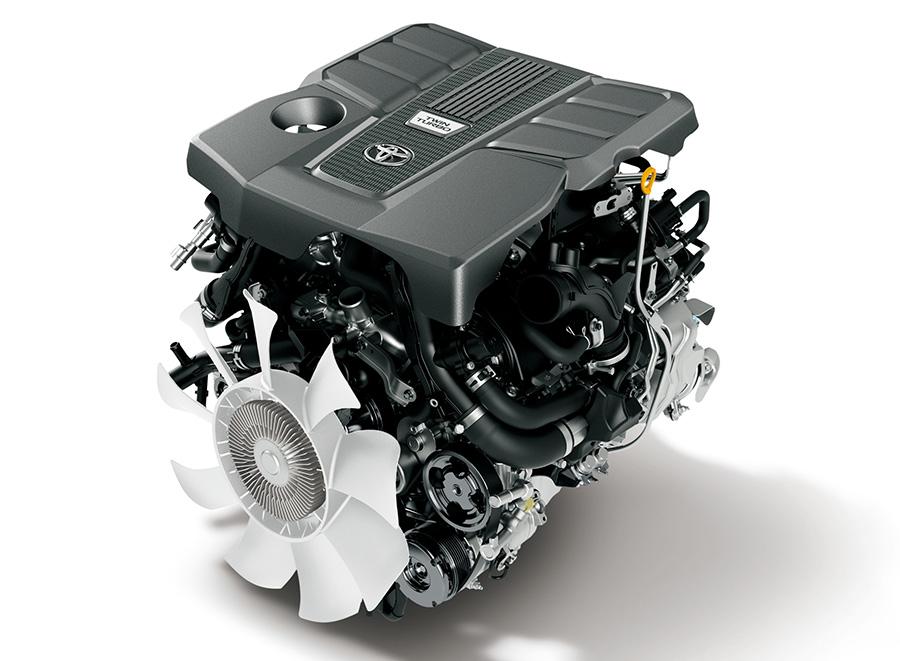 3.5L V6ツインターボガソリンエンジン(V35A-FTS)