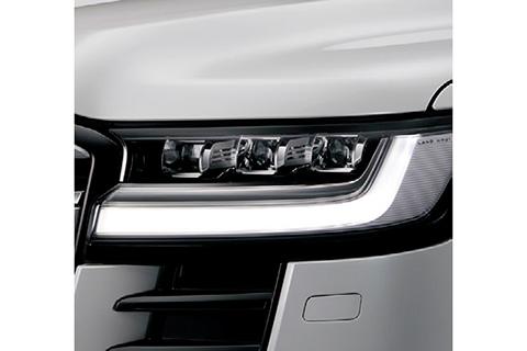 プロジェクター式LEDヘッドランプ+LEDクリアランスランプ+LEDデイタイムランニンクランプ+LEDシーケンシャルターンランプ(ZX(ガソリン車))