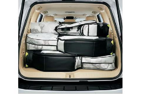 大容量のラゲージスペース(ゴルフバッグ)(ZX(ガソリン車))