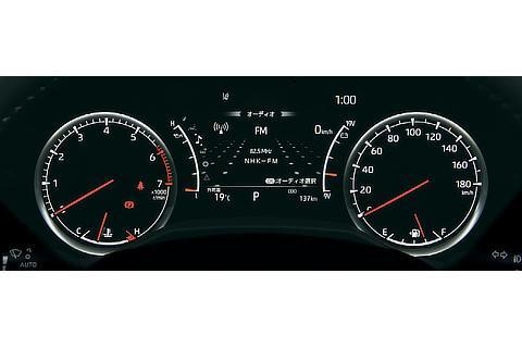 2眼オプティトロンメーター+7インチTFTカラー マルチインフォメーションディスプレイ(ZX(ガソリン車))