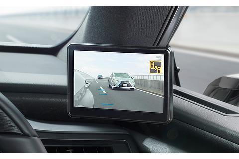 デジタルアウターミラー ディスプレイ(運転席側)