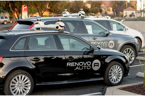 Renovo's automated driving test fleet
