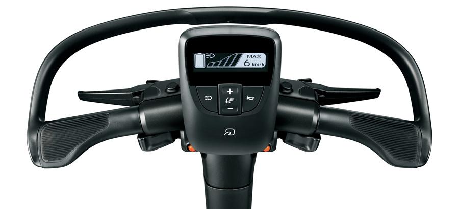 Steering wheel (Options shown)
