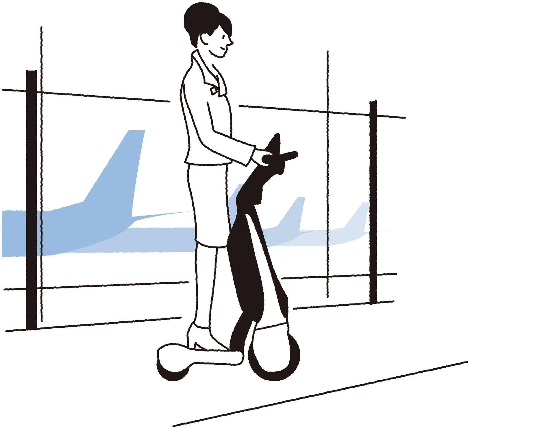 Toyota Launches the C+walk T in Japan, a New Form of Walking-Area MobilityAn easy-to-use, three-wheeled standing-type BEV - Image 3