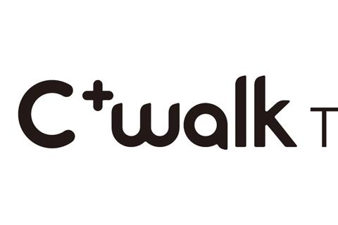 C+walk T ロゴ