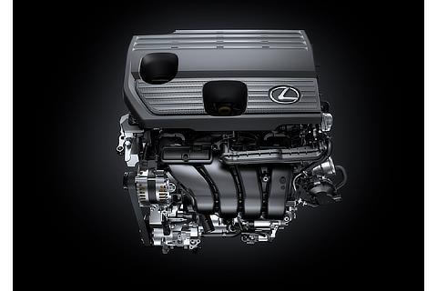 NX250 2.5L直4エンジン