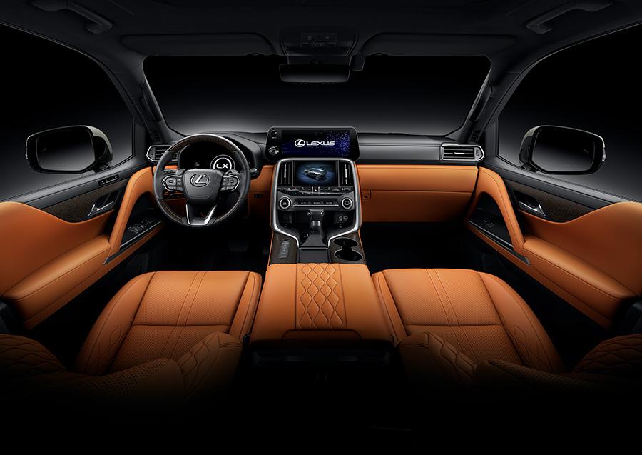 "Lexus LX Interior Color ""EXECTIVE"" Sun Flare (Prototype)"