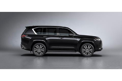 Lexus LX Exterior Color Black (Prototype)