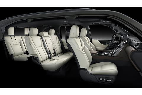 Lexus LX Interior Color White & Dark Sepia (Prototype)