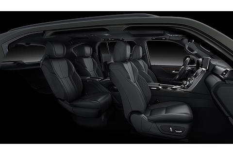 "Lexus LX Interior Color ""EXECUTIVE"" Black (Prototype)"