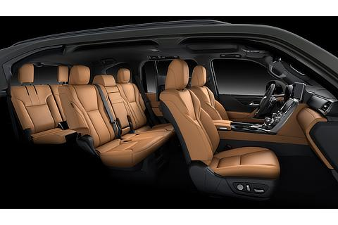 Lexus LX Interior Color Hazel (Prototype)