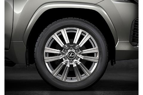 Lexus LX 22inch Aluminum Wheels (Prototype)