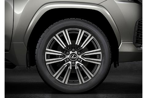 Lexus LX 22inch Aluminum Wheels Gross (Prototype)