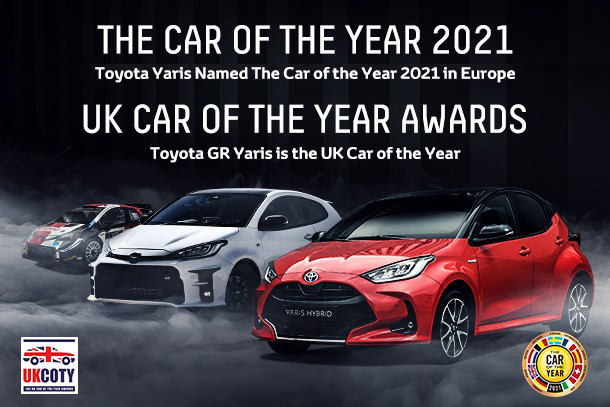 Toyota Yaris Named The Car of the Year 2021 in Europe / Toyota GR Yaris is the UK Car of the Year