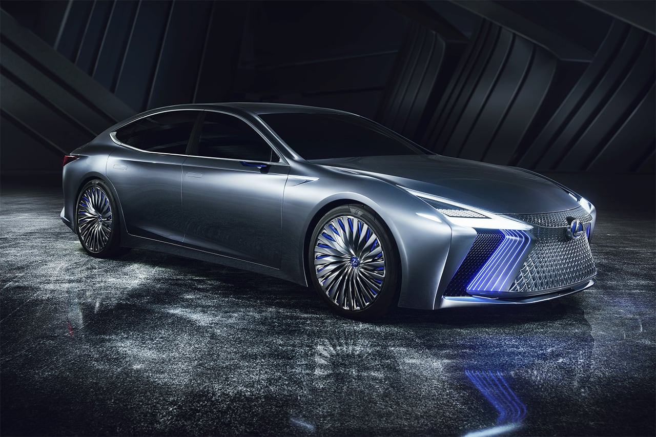 Lexus Premieres 'LS+ Concept' Flagship with Eye toward Application of Automated Driving Technologies in 2020