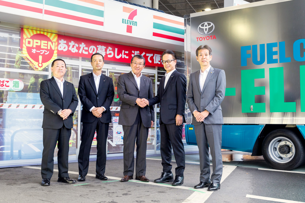Seven Eleven An And Toyota To Launch Joint Next Generation Convenience Project In Autumn 2019 Toward Greater Co2 Emissions Reduction