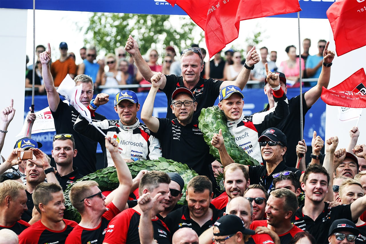 Rally Finland: Day 4 Tänak takes a home triumph for the Toyota Yaris WRC