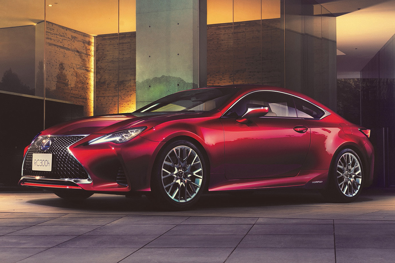 Even Sharper, More Refined Lexus Reimagines its RC Luxury Sports Coupe