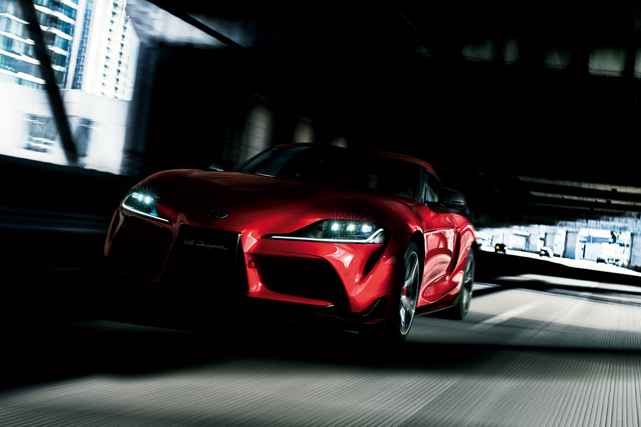 Toyota Rolls Out New Supra